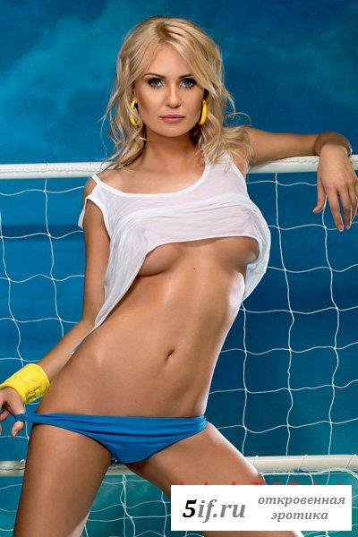 Жены украинских футболистов в журнале Максим (9 фото)