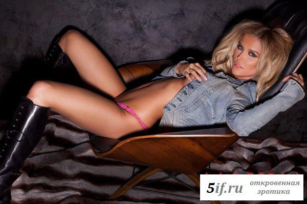 Джоанна снялась для журнала Максим (6 фото)