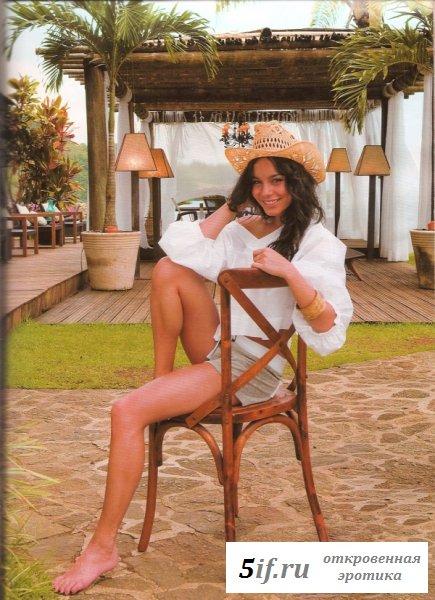Ванесса Хадженс в соблазнительных нарядах (10 фото)
