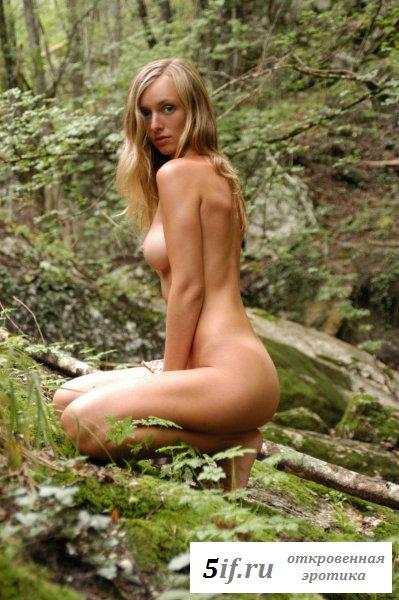 Поход в джунгли с обнаженной подругой