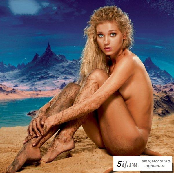 Знаменитая Кристина Асмус в журнале Максим