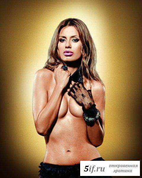 Сексапильная Виктория Боня на эротических снимках