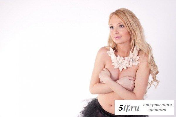 Обворожительная блондинка Дарья Пинзарь