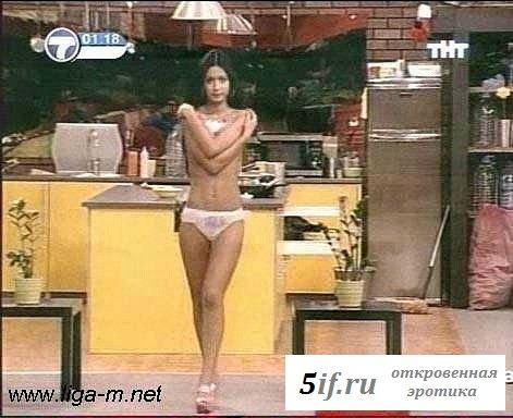 Ягайлова Анастасия рекламирует эротично белье