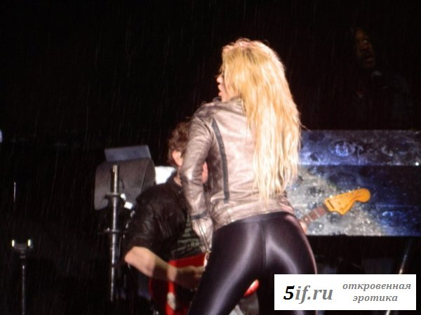 Шакира и ее упругая задница