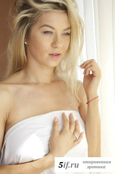 Полина Логунова - сладкая эротичная белявк