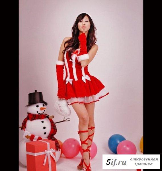 Куклы в эротичном белье скрасят Новый Год