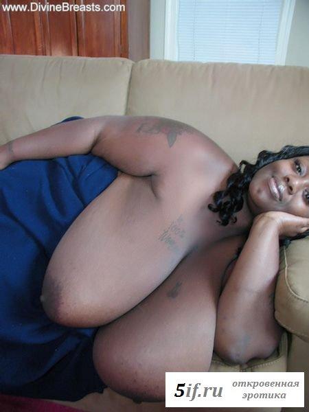 Гигантские буфера толстенькой девушки