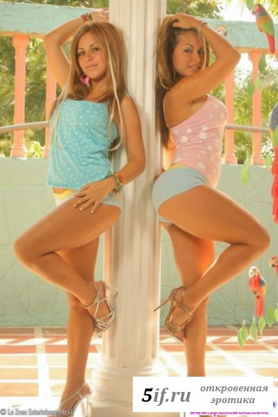 Эротичные милашки сестры близняшки