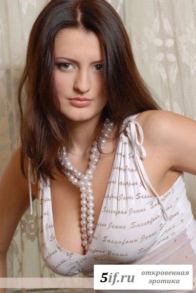 Настоящая сисястая русская девушка