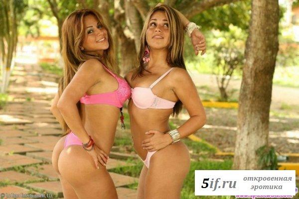Козырные накачанные тузы сестер близняшек