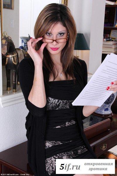 Горячий эротический отчет секретарши