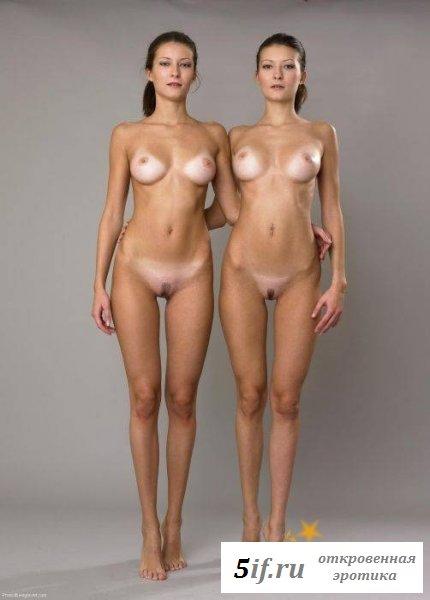Эротика с прекрасными сёстрами двойняшками