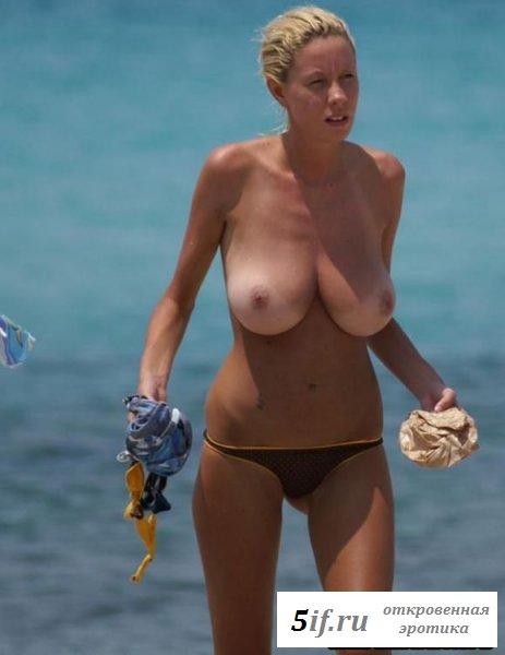 Классный улов папарацци в виде сисястой сучки