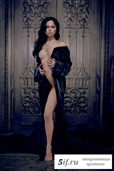 Настя Самбурская в эротическом журнале