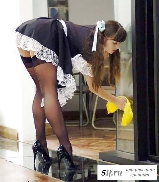 Соблазнительные прелести голых служанок (21 фото эротики)
