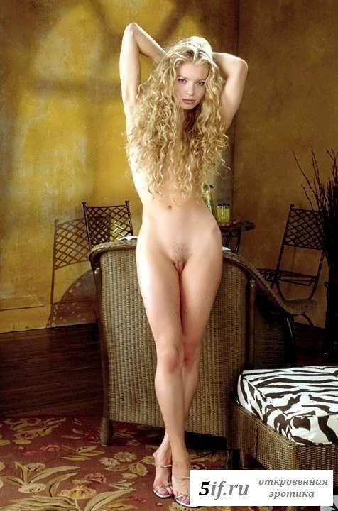 Голая девица в разном белье (20 фото эротики)